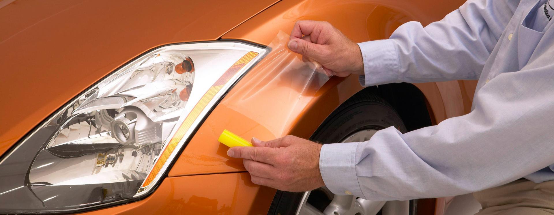 Бронирование авто плёнкой своими руками